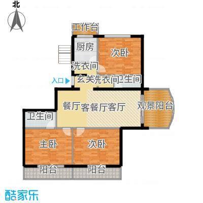 翠福园(翠福星城)136.99㎡二期a户型10室