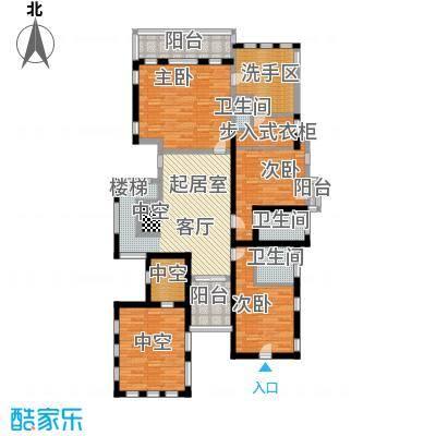 庆隆南山高尔夫柏翠庄建筑面积:129平米户型