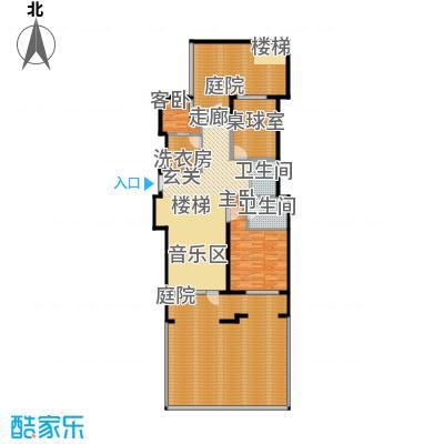 花墅香醍(龙湖・花盛香醍)93.00㎡IY花园层户型10室