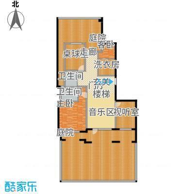 花墅香醍(龙湖・花盛香醍)110.00㎡J1-Y花园层户型10室