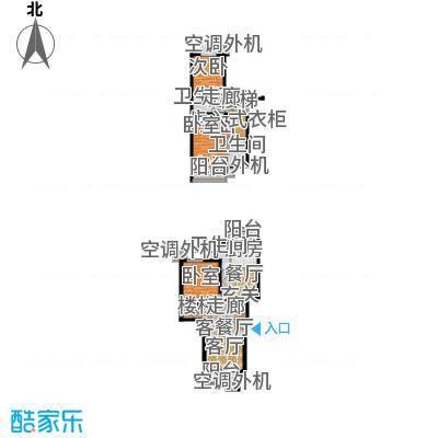天鸿美域151.20㎡三室二厅三卫G3户型(二期)户型