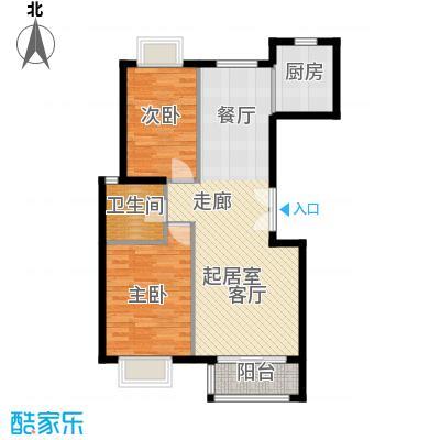 世纪星城・全朝阳99.90㎡三期25号楼A户型2室2厅1卫