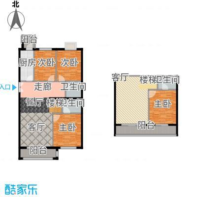 葵花社170.77㎡I户型四室二厅二卫户型