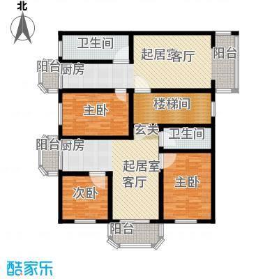 翠屏北里18号楼平面示意图户型