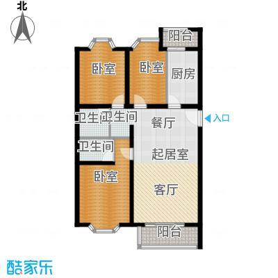 顺鑫澜庭106.79㎡G户型10室