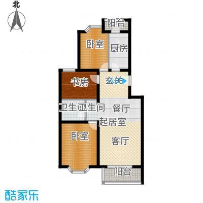 顺鑫澜庭94.30㎡M户型10室