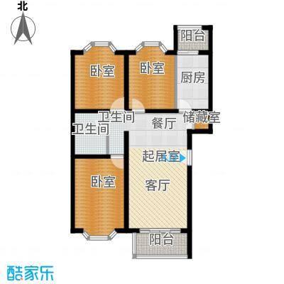 顺鑫澜庭94.71㎡D户型10室