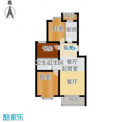 顺鑫澜庭94.82㎡M户型10室