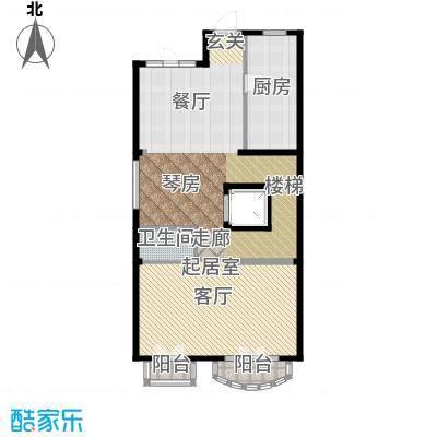 融科・千章墅123.61㎡联排LC入户层户型10室