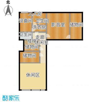 北京御墅154.69㎡D地下一层户型2卫