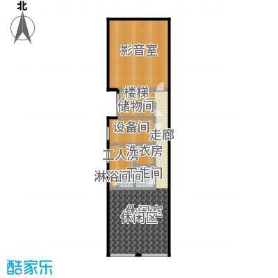 北京御墅127.14㎡A地下一层户型2卫