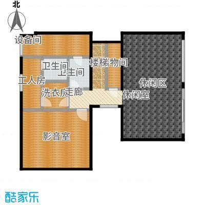 北京御墅B地下一层户型2卫