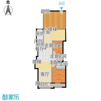 花墅香醍(龙湖・花盛香醍)127.00㎡I1-Y一层户型10室