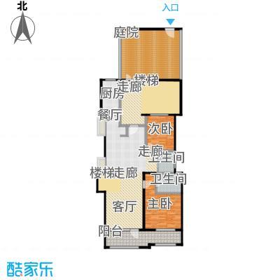 花墅香醍(龙湖・花盛香醍)125.00㎡IY一层户型10室