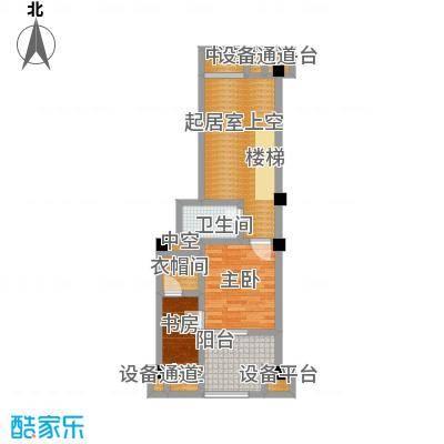 金科VISAR国际4#-a-楼上户型2室1卫