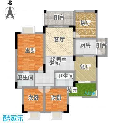 兴现金鼎龙泉102.00㎡A-13(已售完)户型3室2卫1厨