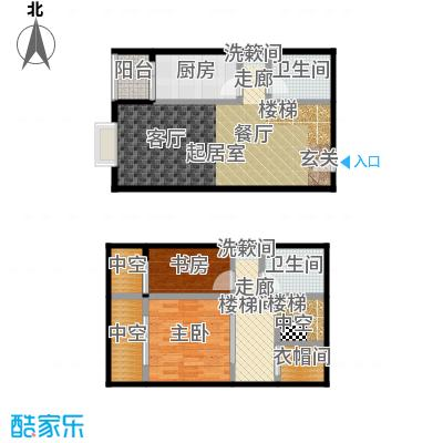 天通・公园里58.29㎡A5户型