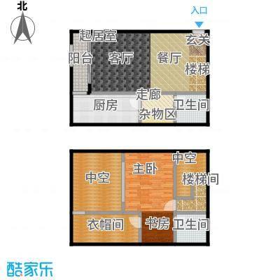 天通・公园里72.56㎡A2 户型
