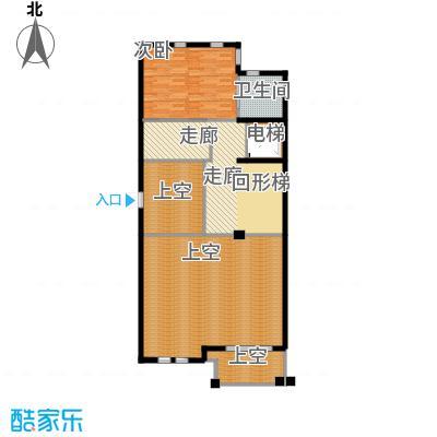 京基・鹭府B2联排别墅二层户型1室1卫