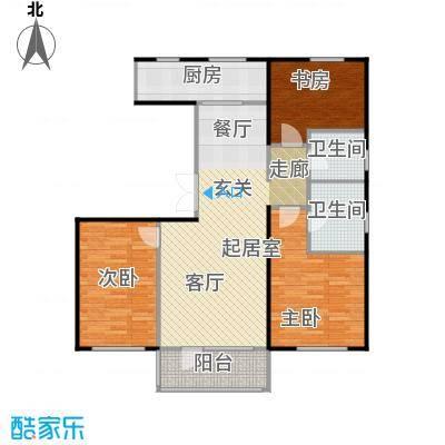 万年生态城・园博府138.00㎡C2户型10室