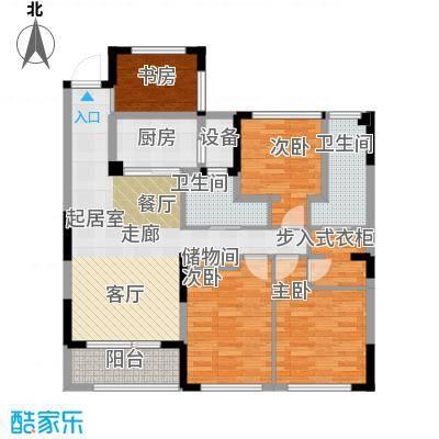 卓锦兰香D户型4室2卫1厨