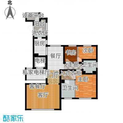 远洋・万和公馆170.00㎡A户型2室3厅2卫