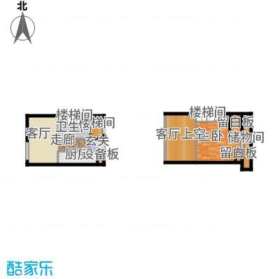 北京城建・N次方49.47㎡D户型1室1厅1卫