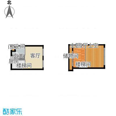 北京城建・N次方60.11㎡C户型1室1厅1卫