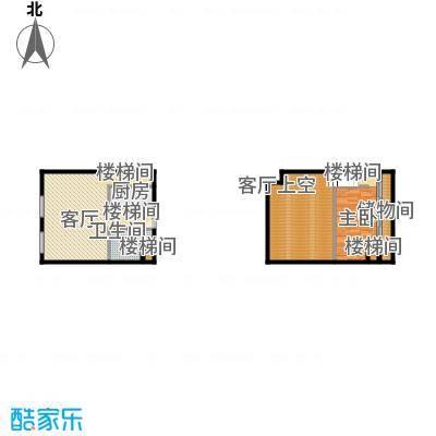 北京城建・N次方65.39㎡A2户型1室1厅1卫