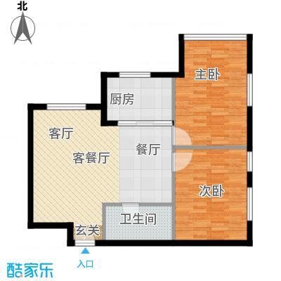 朝阳首府75.64㎡Q户型10室
