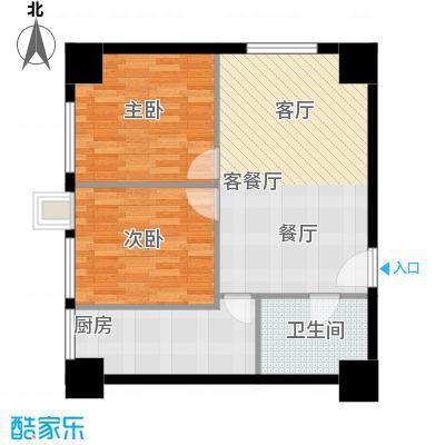 朝阳首府66.06㎡H户型10室
