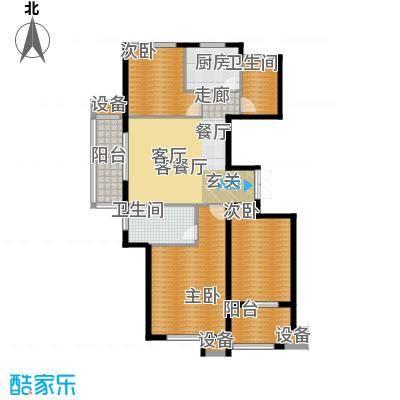 东方城117.69㎡东方城117.69㎡3室2厅2卫户型3室2厅2卫