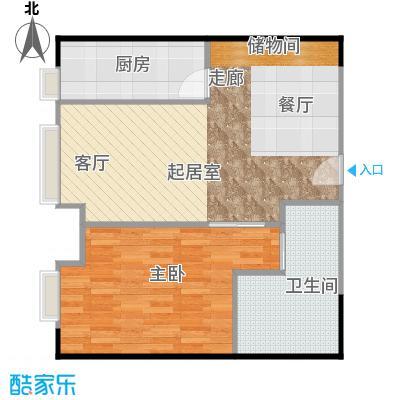 大成时代中心84.70㎡C1C2户型10室