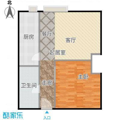大成时代中心69.87㎡F户型10室