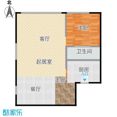 大成时代中心91.88㎡B户型10室