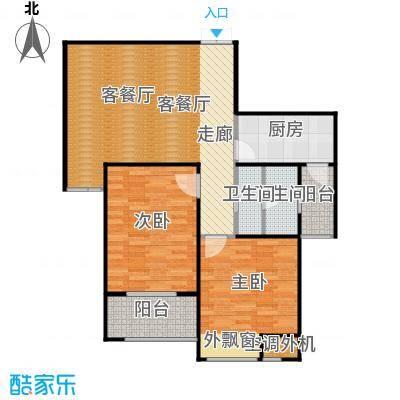 恒隆广场5号楼1单元、2单元中户户型