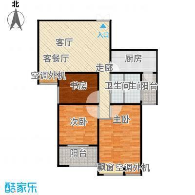 恒隆广场4号楼1单元、2单元中户户型