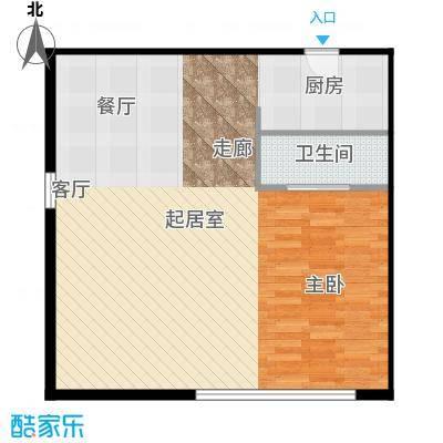 大成时代中心97.00㎡A户型10室