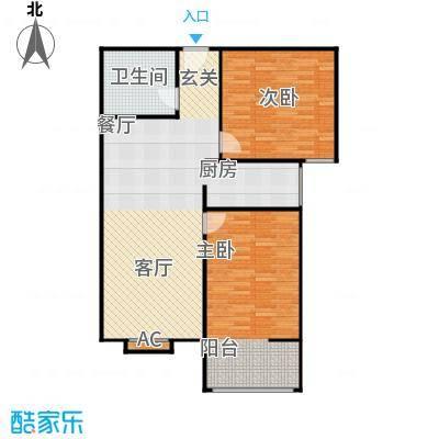 兴业苑建筑面积:98.92m² 三室两厅一卫户型3室2厅1卫