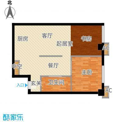 旺角花园67.15㎡旺角花园67.15㎡户型10室
