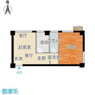 旺角花园49.70㎡旺角花园49.70㎡户型10室