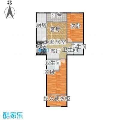 京汉铂寓(石景山)108.00㎡C户型10室