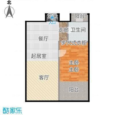 京汉铂寓(石景山)66.00㎡B、B反户型10室