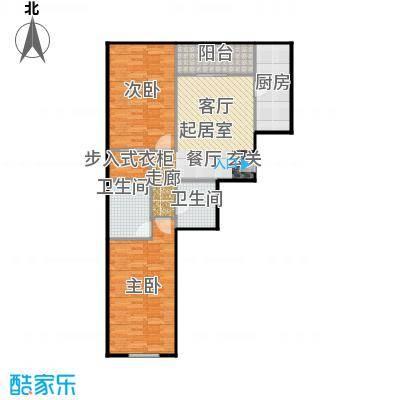 京汉铂寓(石景山)112.00㎡E'户型10室