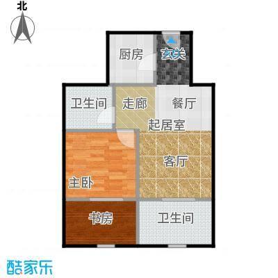 京汉铂寓(石景山)68.00㎡F'户型10室