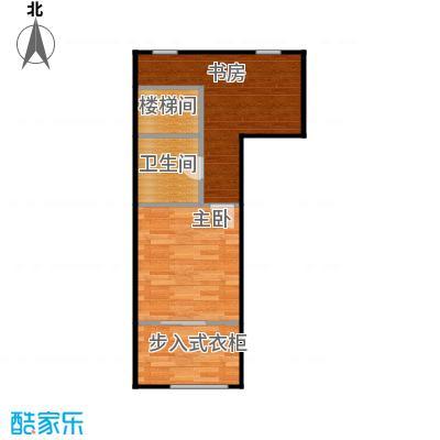 京汉铂寓(石景山)126.00㎡A2、A2反2层户型2室1卫