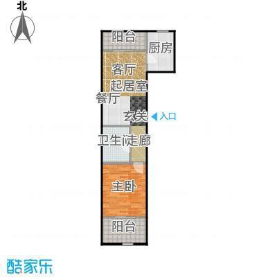 京汉铂寓(石景山)74.00㎡A、A反户型10室