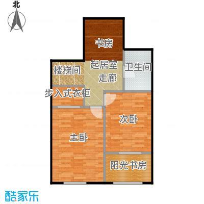 京汉铂寓(石景山)146.00㎡B2、B2反2层户型10室