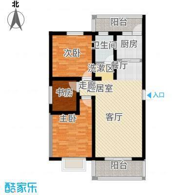 滨海桂冠98.81㎡滨海桂冠98.81㎡3室2厅1卫户型3室2厅1卫