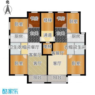首旅・紫峰九院城通州于家务自住型商品房95.00㎡户型3室2厅2卫